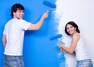 When painting your home interiors, don't forget to brush the corners